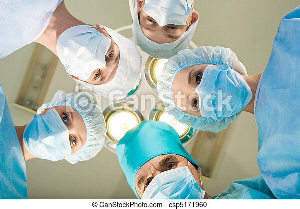 médico, equipe, pessoal - csp5171960