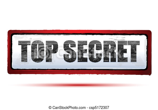 top secret - csp5172307