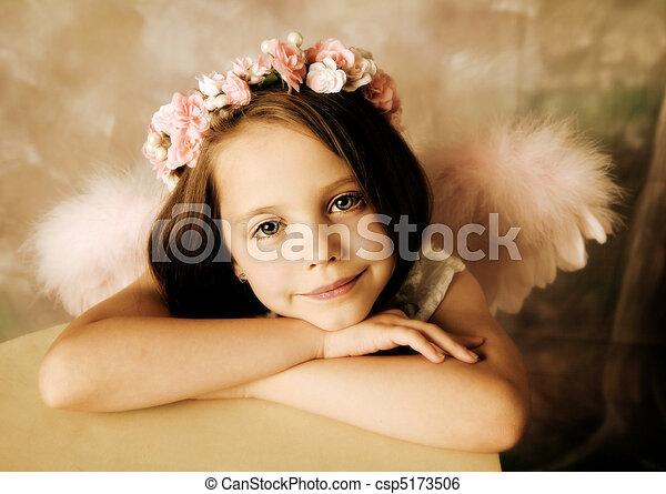 Angel Girl - csp5173506
