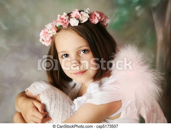 Angel Girl - csp5173507