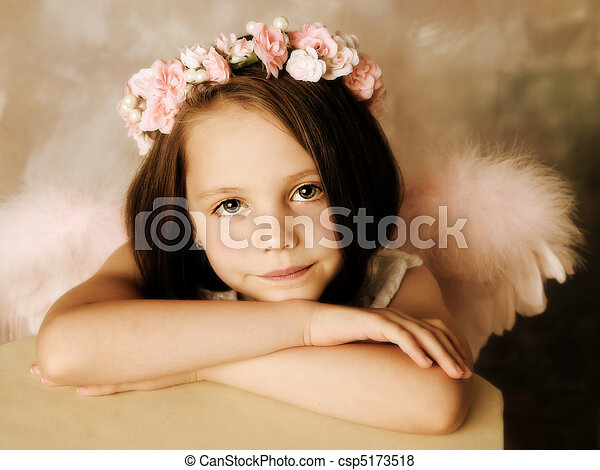 Angel Girl - csp5173518