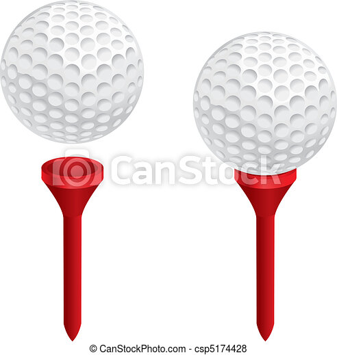Golf Ball Tee - csp5174428