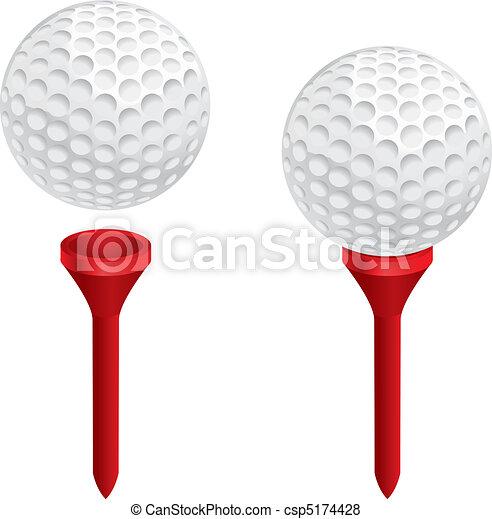 Golf Ball Tee - csp5174428