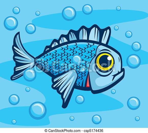 Fish Underwater - csp5...