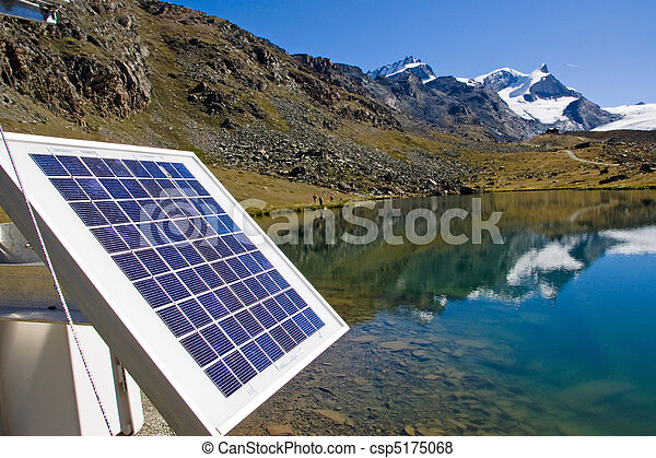 Solar technology in the alps - csp5175068