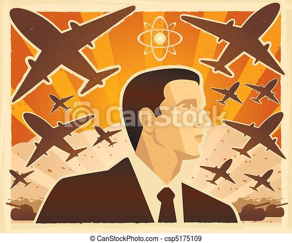 War Illustration - csp5175109