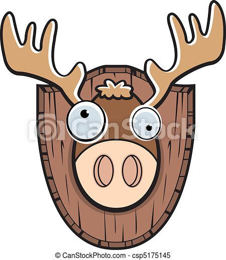 Moose Mounted - csp5175145