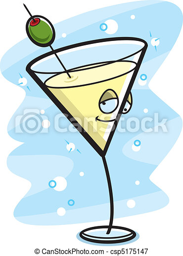 Drunk Martini - csp5175147