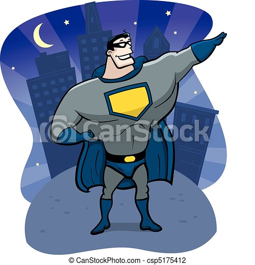 Superhero Night - csp5175412