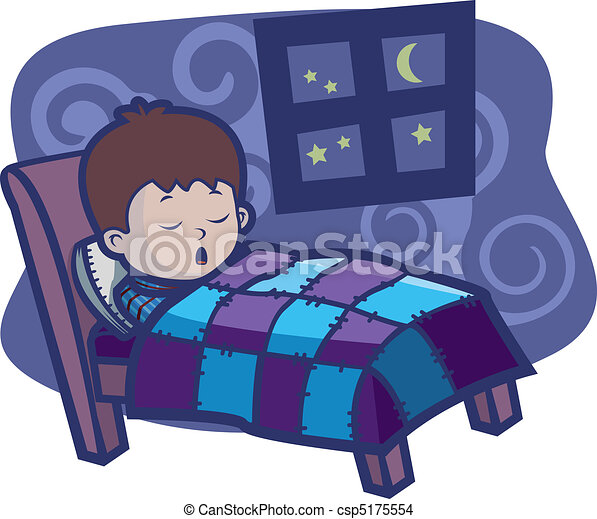 ... bed. csp5175554 - Search Clip Art, Illustration, Drawings and Clipart