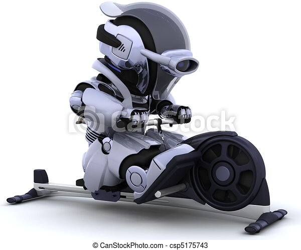rowing machine - csp5175743