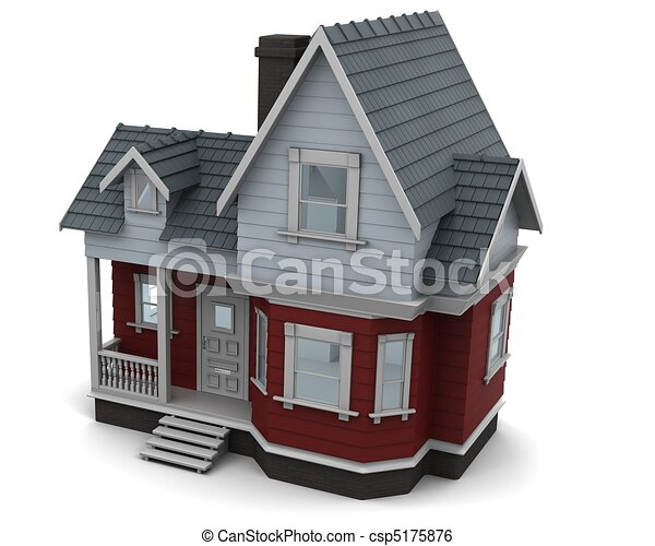 traditional timber house - csp5175876