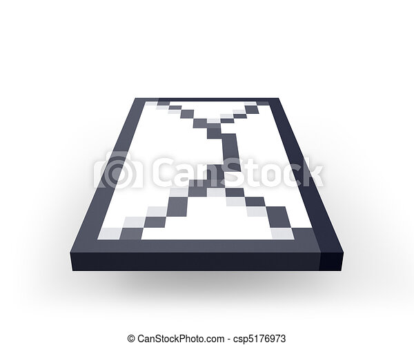 Sending pixelated letter - csp5176973