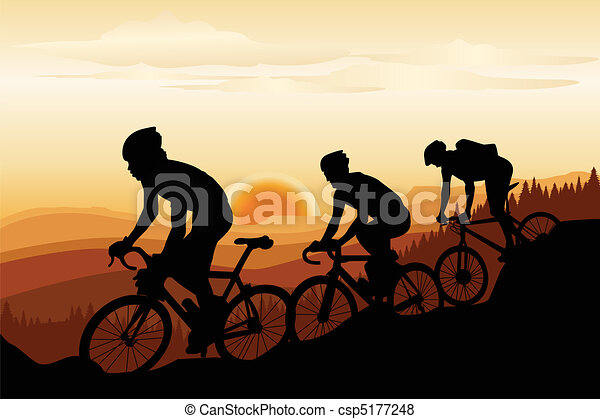 Mountain biking - csp5177248