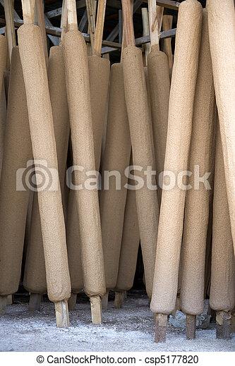 Traditional Joss Stick Factory - csp5177820