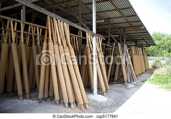 Traditional Joss Stick Factory - csp5177841