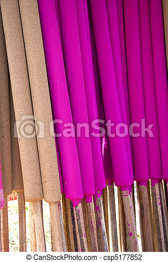 Joss Sticks Making - csp5177852