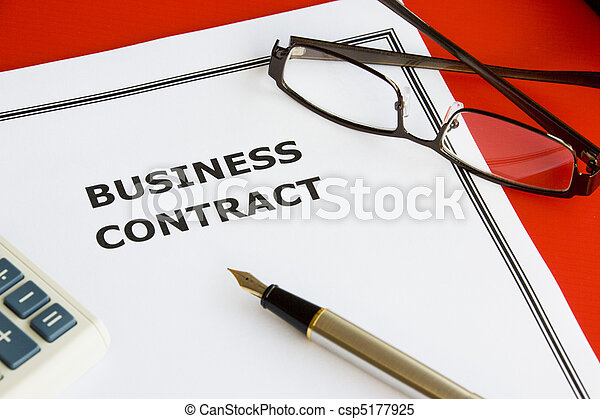 Business Contract - csp5177925