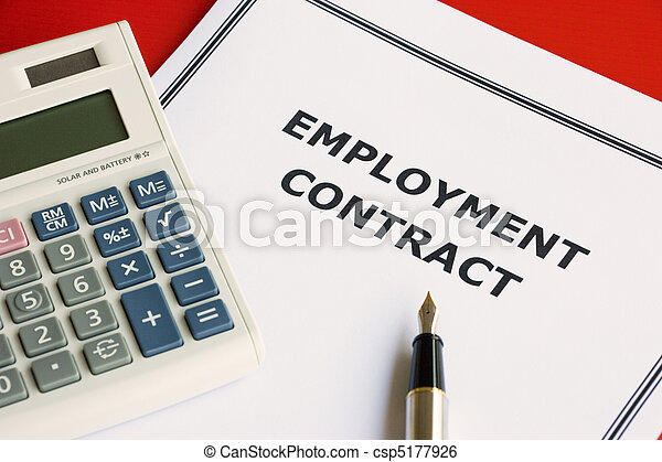 Employment Contract - csp5177926