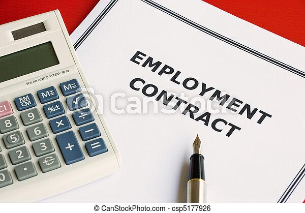Employment Contract - csp5177926
