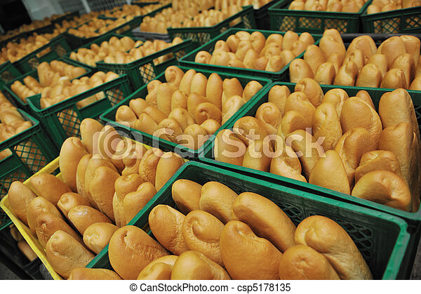 bread factory production - csp5178135