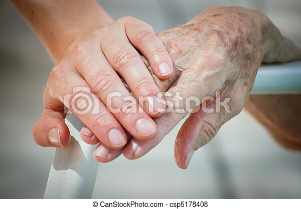 Young help Old - csp5178408