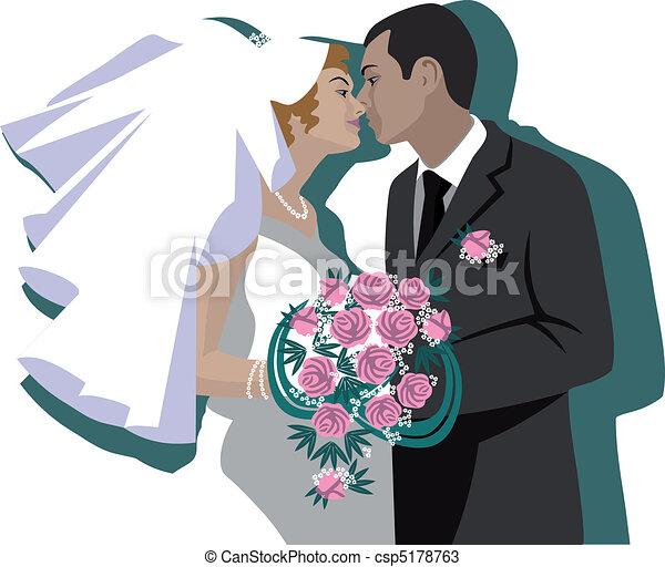 vecteurs de couple 04 mariage vector wedding couple. Black Bedroom Furniture Sets. Home Design Ideas