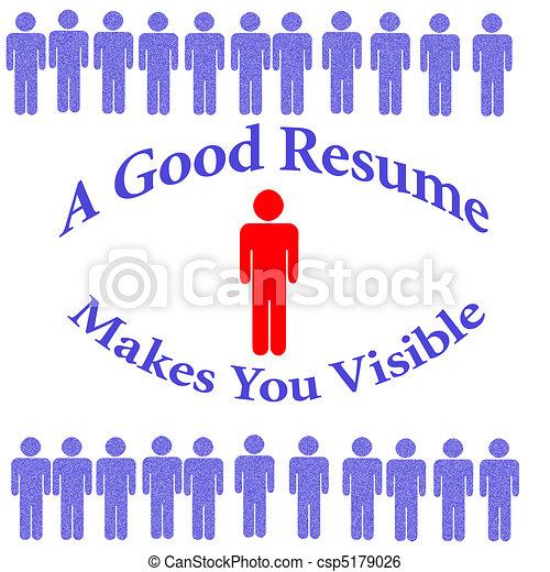 outstanding resume - csp5179026