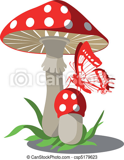 Mushrooms set 004 - csp5179623