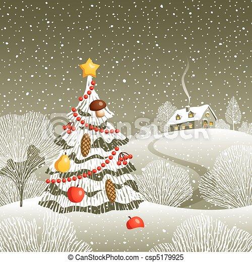 Christmas Eve - csp5179925