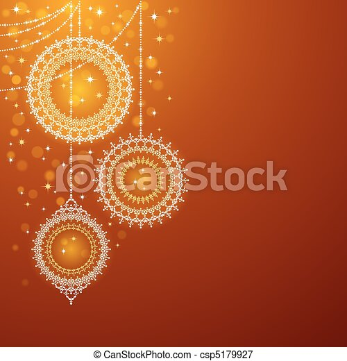 Christmas ornaments - csp5179927