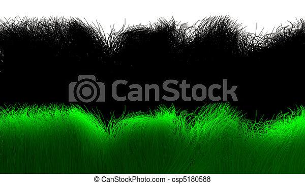 3d grass with alpha mask - csp5180588