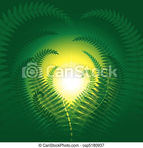 Magic fern - csp5180937