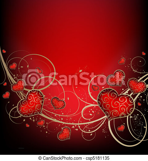 Valentines background - csp5181135