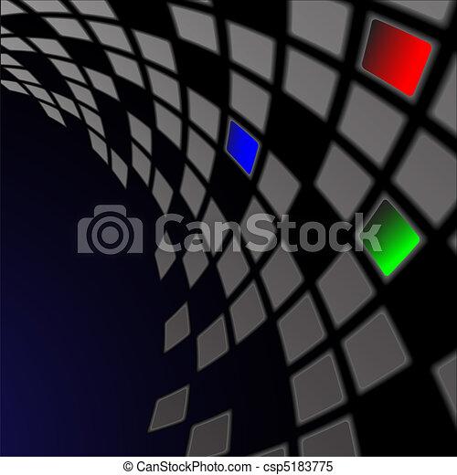 The bent Mosaic - csp5183775