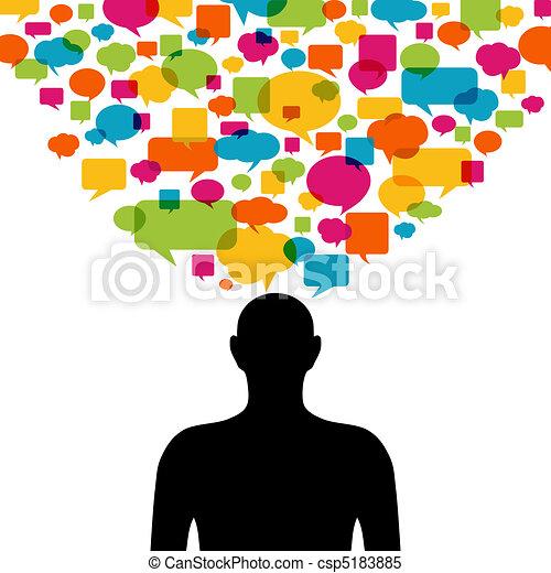 Thinking man - csp5183885