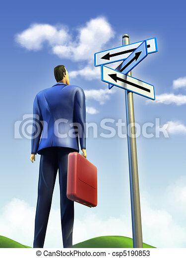 Business choice - csp5190853