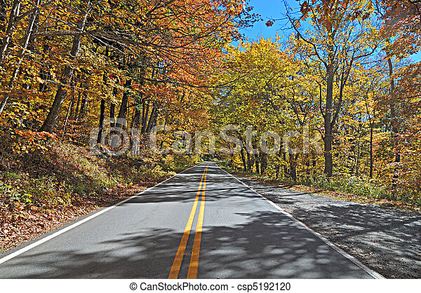 Blueridge Autumn - csp5192120