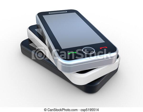 3D smart phone - csp5195514
