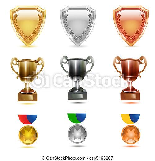 prizes icons - csp5196267