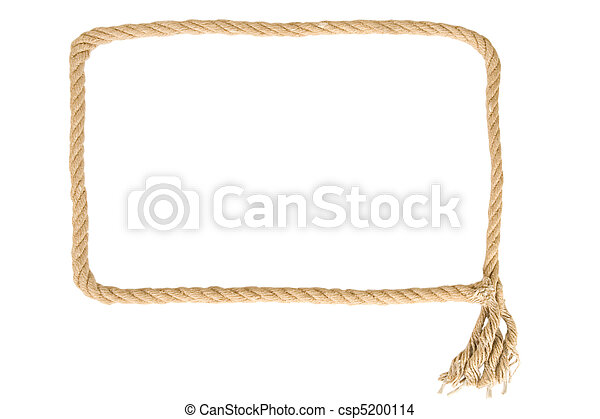 frame made from rope - csp5200114