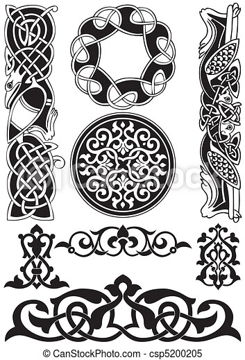 Celtic vector art-collection. - csp5200205
