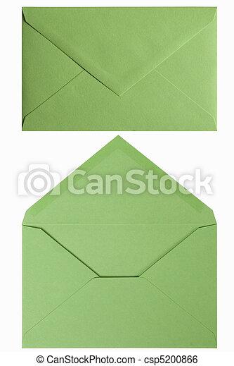 green envelop - csp5200866