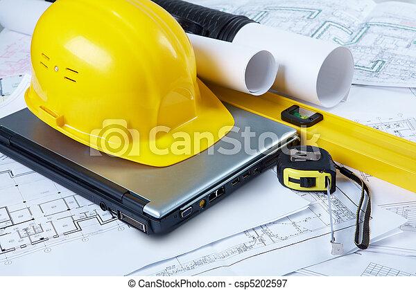 ingegneria, attrezzi - csp5202597