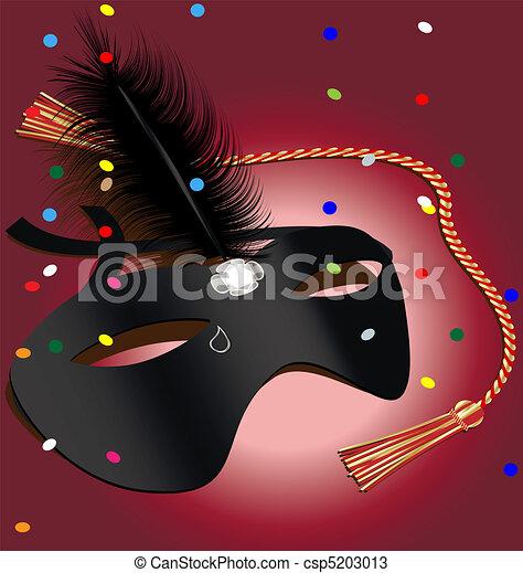 carnival mask - csp5203013