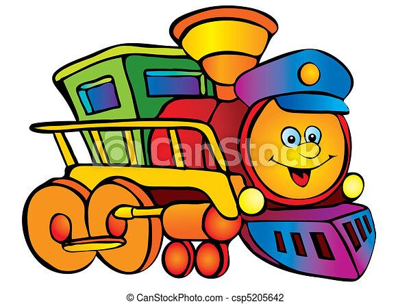 Illustration vecteur de locomotive locomotive vector - Locomotive dessin ...