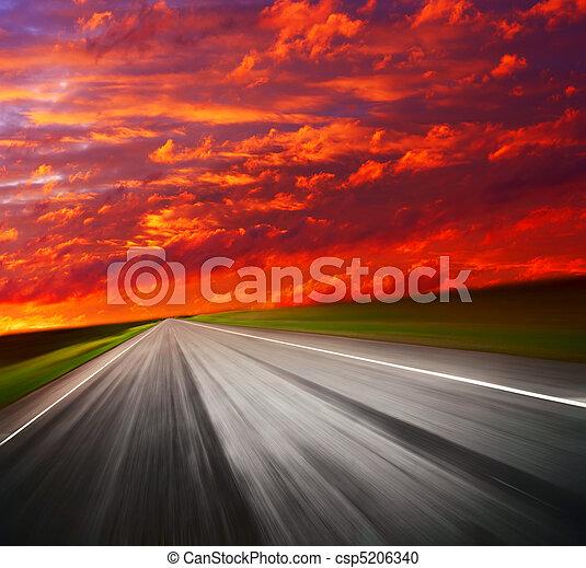 Road - csp5206340