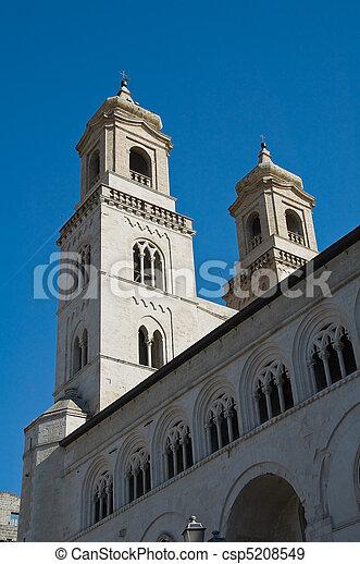 St. Maria Assunta Cathedral. Altamura. Apulia. - csp5208549