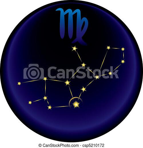 Zodiac Virgo Sign - csp5210172