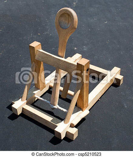 how to make a small wooden catapult